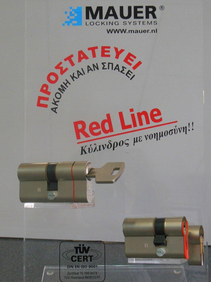 ΚΥΛΙΝΔΡΟΙ ΑΣΦΑΛΕΙΑΣ MAUER RED LINE